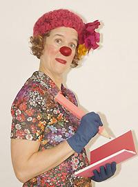 Daisy Croquette clown scénarise