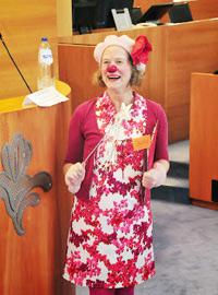 Daisy Croquette clown en direct